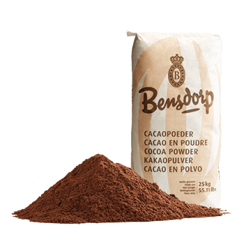 "Bensdorp ""Royal Dutch"" 22/24% Cocoa powder 50 lb bag"