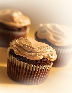 Chocolate Cupcakes (from Callebaut recipe Collection)