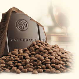 Callebaut SemiSweet FAIR TRADE Chocolate 811 callets 5.5 lbs #811FT