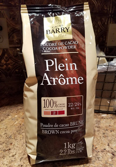 "Cacao Barry ""Plein Arome"" Cocoa Powder 1 kg"