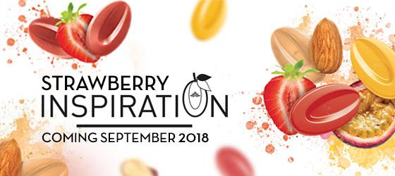 Valrhona Strawberry Inspiration 3 kg feves
