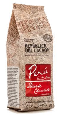 Republica del Cacao 62% Dark Peru #220101 5.5 lbs