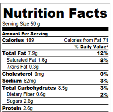 Oreo Pie Calories And Nutrition Facts