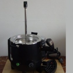 Removal bowl hot chocolate machine base