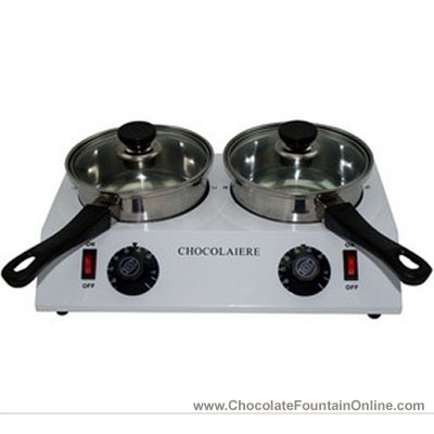 CP28 3 kgs Double Electric Chocolate Melting Pot