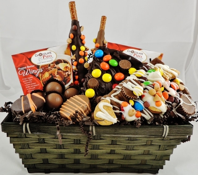 Peanut Butter Gift Basket Love At First Bite Chocolate