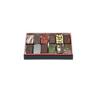 ecrin de chocolat noirs 100g pralinés et ganaches