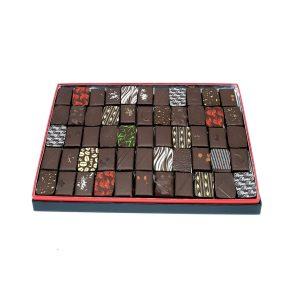 écrin chocolat noir 450g