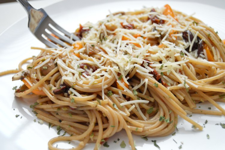 Vegetarian Italian Wheat Spaghetti