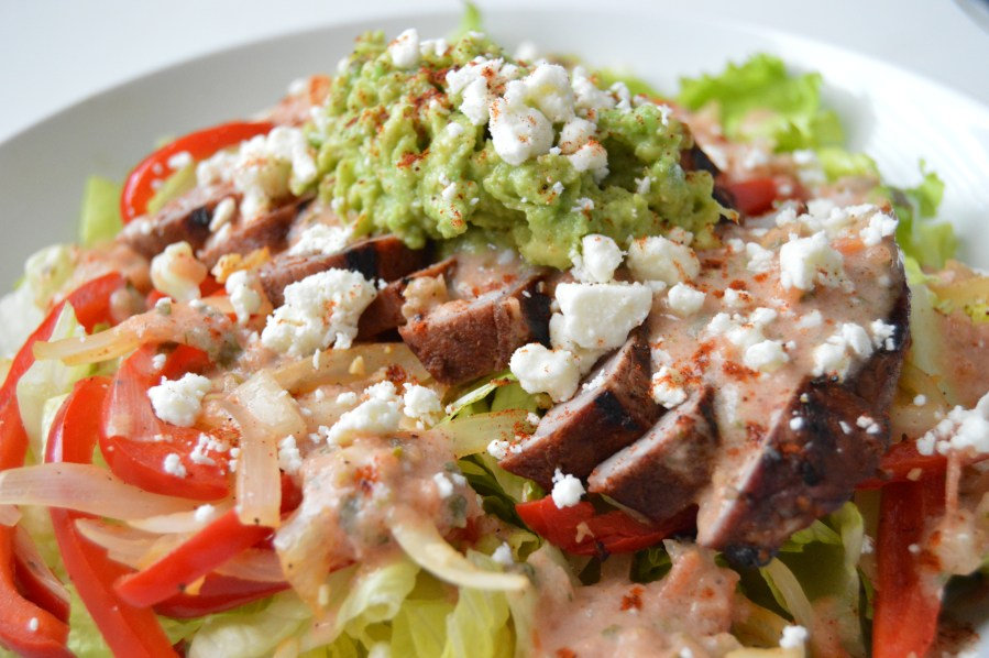 Fiesta Steak Salad