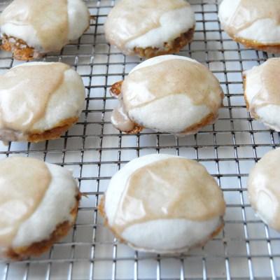 Carmel Apple Pecan Pie Cookies