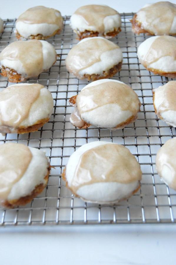 Caramel Apple Pecan Pie Cookies