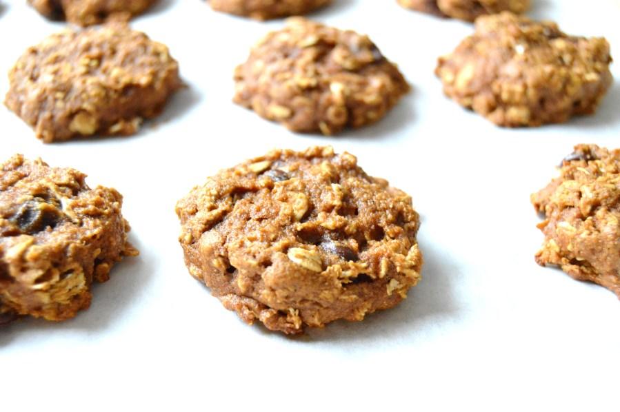 Chocolate Chip Sweet Potato Cookies