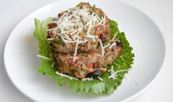 Italian Turkey Meatloaf Patties