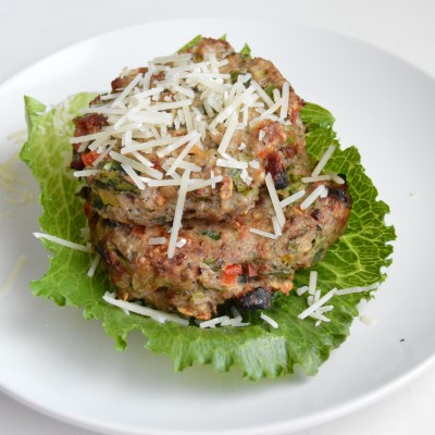 Italian Turkey Meatloaf Patties