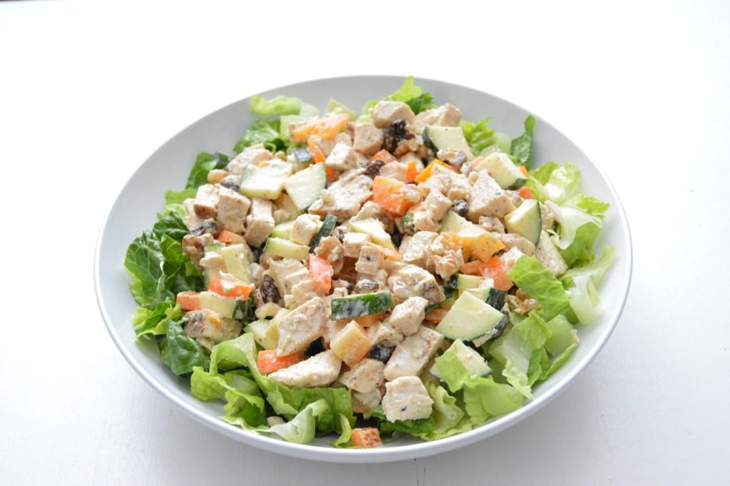 Chicken Zucchini Salad