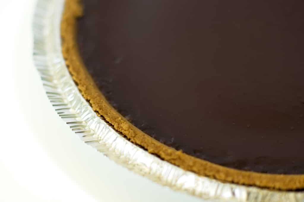 Cheater chocolate pie, chocolate, pie, chocolate tart, tart, recipe, easy