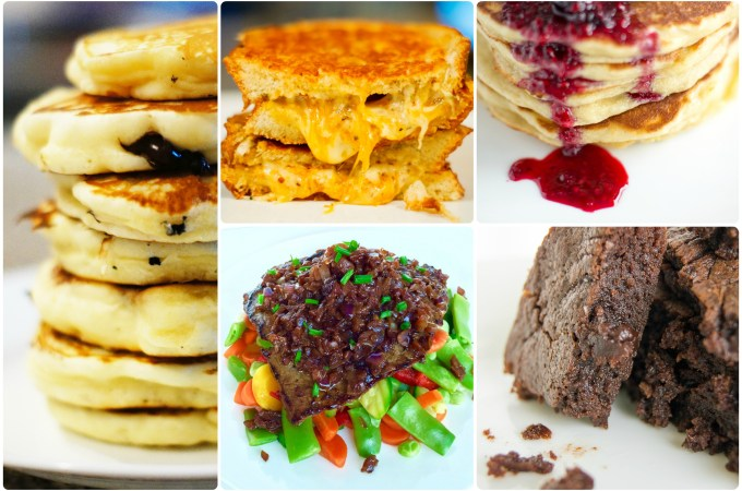 recipes, top recipes, top five recipes 2015, chocolates and chai, best recipes, best recipes 2015, top 5, top 5 recipes 2015, top blogs, best blog recipes, recipe, food, pancakes, brownies, chaliapin steak, steak, chaliapin, grilled cheese,