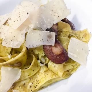 Mushroom Pesto Pappardelle