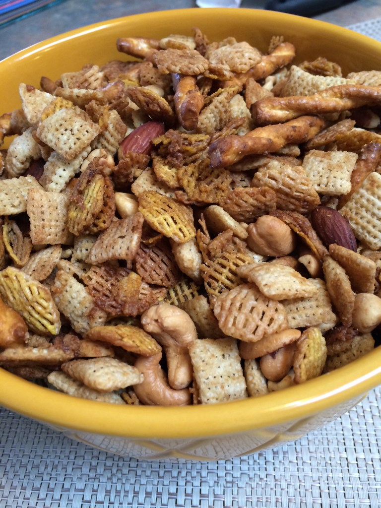 Irresistible Chex Mix {And a short lesson on salt}