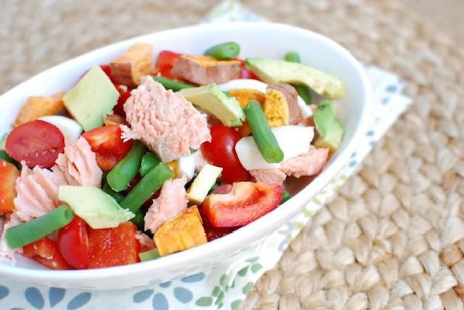 Lindsay Salmon Chop Salad