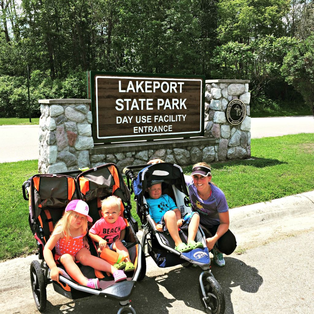 Staying Fit & Healthy on a Day Trip {Family Adventure to Lakeport State Park}