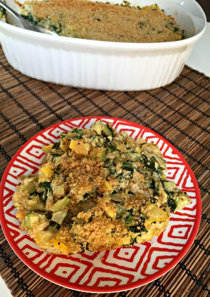 Summer Vegetable and Barley Casserole Bake 3