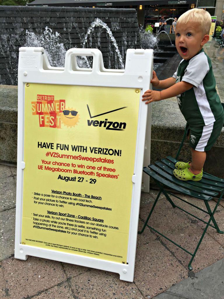 Verizon's Detroit SummerFest {Fitness Gadgets}