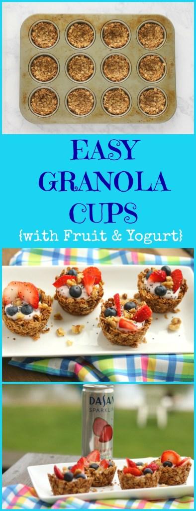 DASANI.granola cups