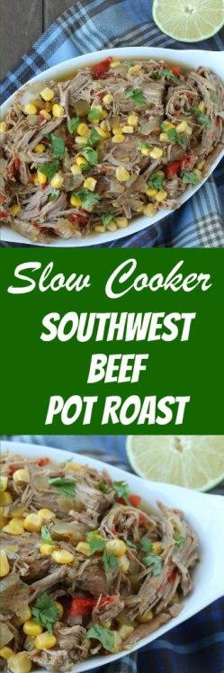 slow cooker southwest pot roast