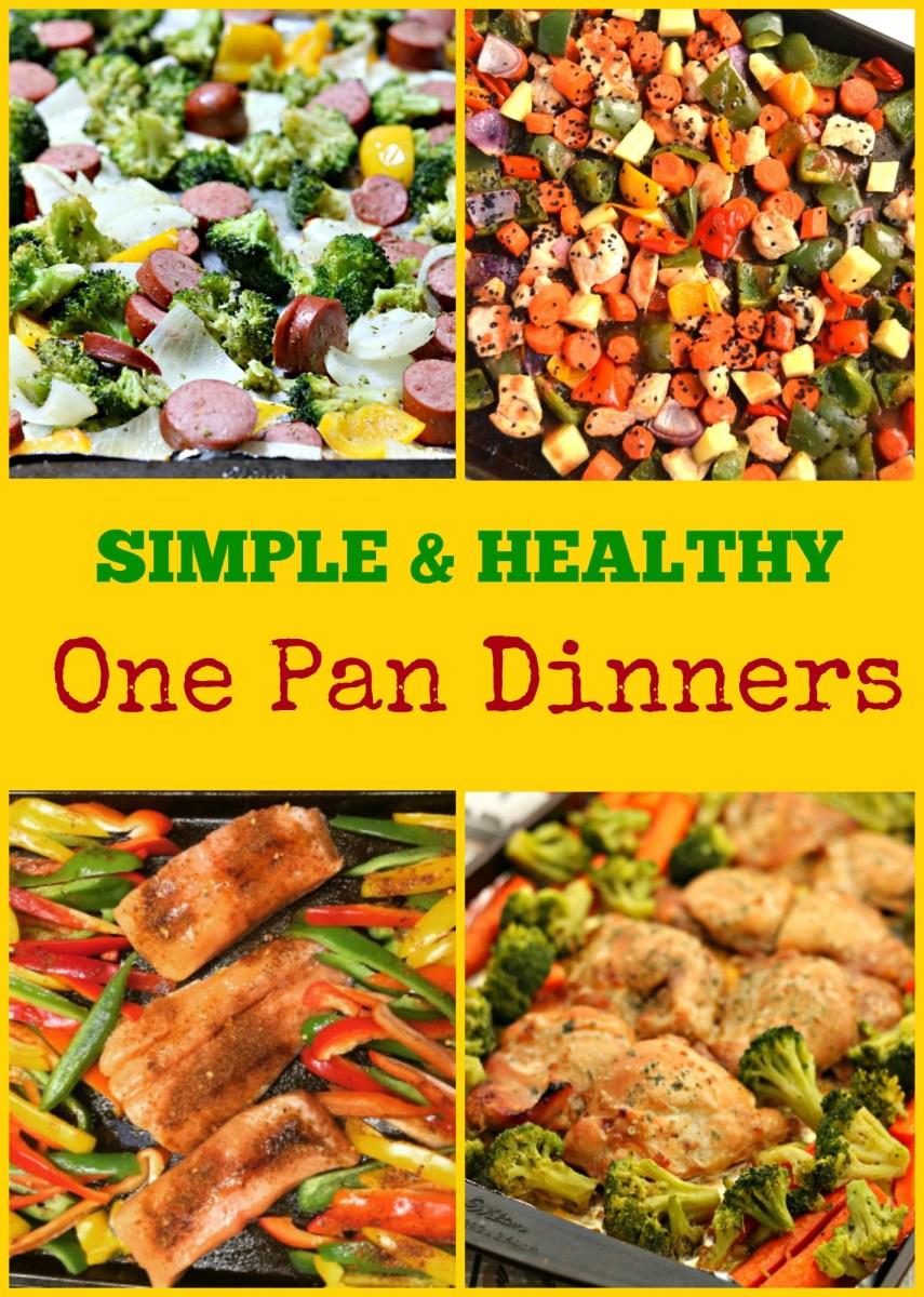 Simple & Healthy One Pan Dinners