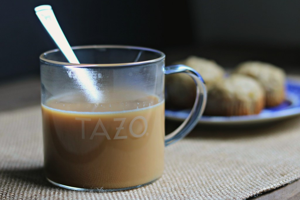 Relaxing with TAZO® Chai Latte K-Cup® Pods