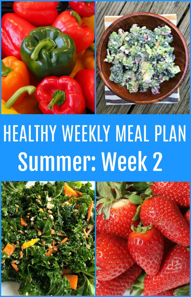 Healthy Weekly Meal Plan {Week Two}