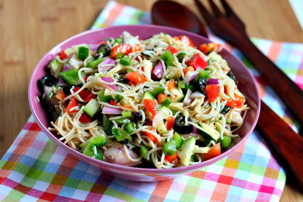 Spaghetti Pasta Salad