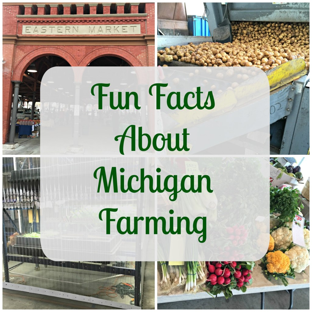 Fun Facts about Michigan Farming (particularly Metro Detroit)