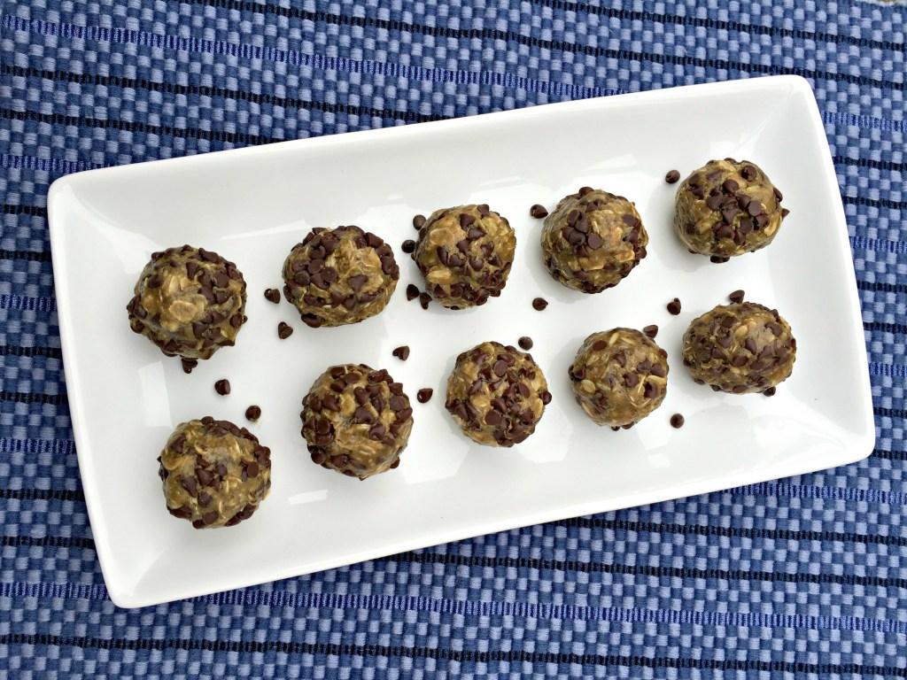 No-Bake Chocolate Chip Energy Bites