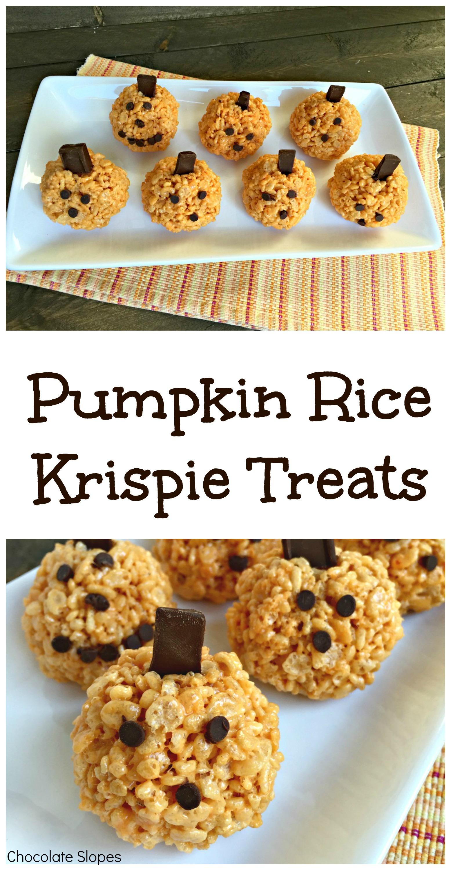 halloween pumpkin rice krispies pumpkin rice krispie treats
