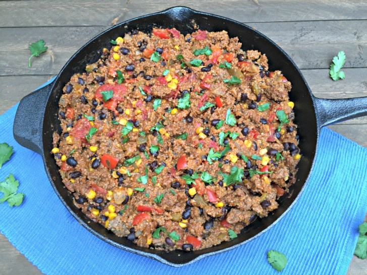 Mexican-Beef-Skillet-With-Quinoa