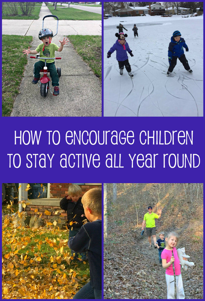How to Encourage Children to Stay Active All Year Round