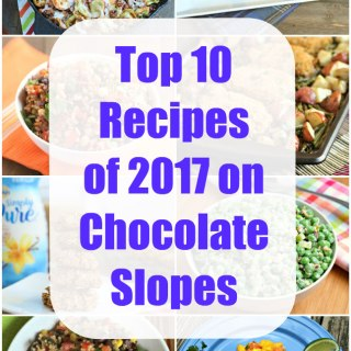 2017 top recipes on Chocolate Slopes