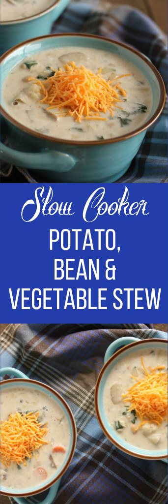 slow cooker vegetable bean potato stew