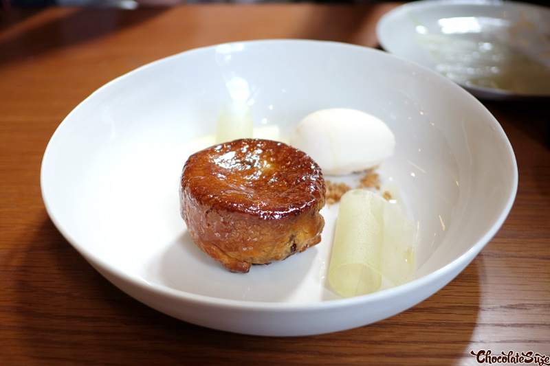 Baked caramelised apple puff pastry at Kensington St Social, Chippendale