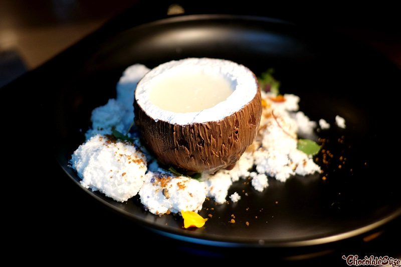 Muse Coconut at Muse Dining, Pokolbin