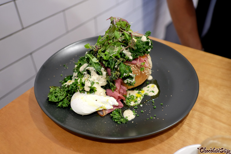Smoked Wagyu Benedict at Ms Murray, Sydney
