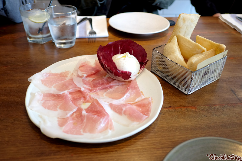 Culatello and Burrata at Mantecato, Balmain