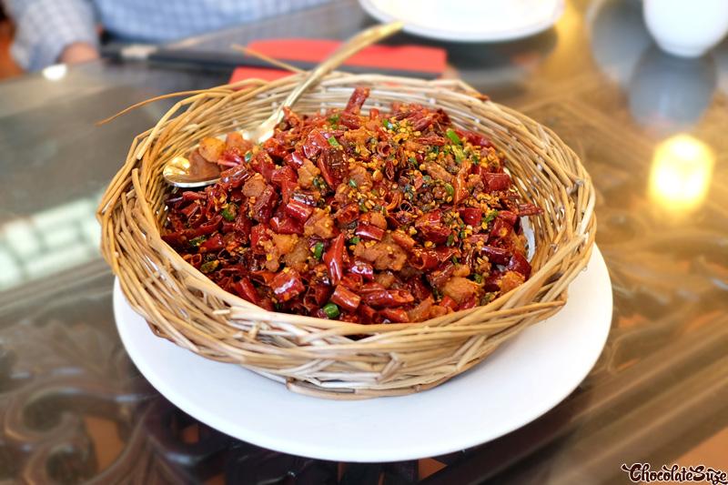 Deep Fried Chicken at Red Chilli Sichuan Restaurant, Chinatown