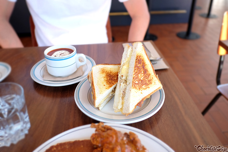Toastie at Bedford St, Collingwood