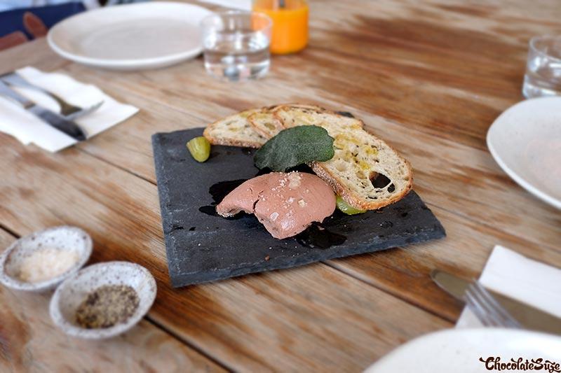 Duck liver parfait at Acre Eatery, Glebe