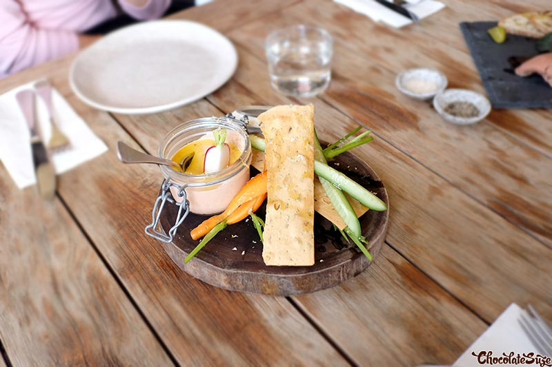 Smoked potted fish at Acre Eatery, Glebe