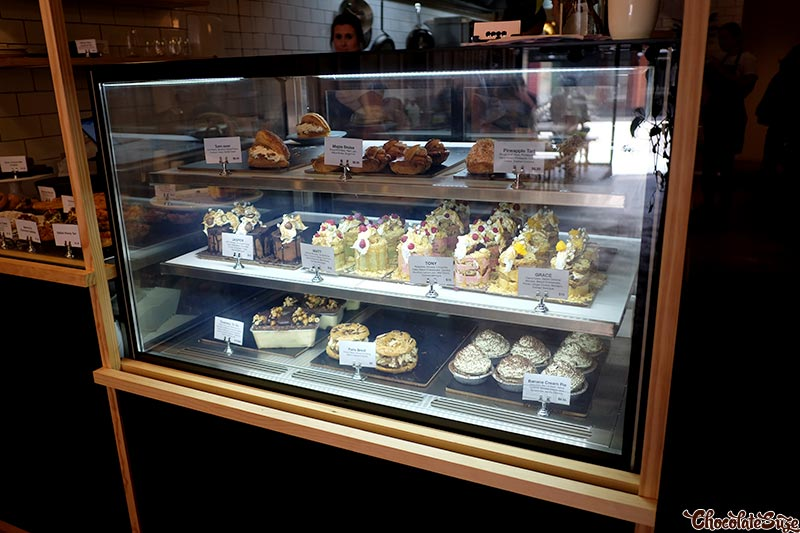 Baked goods at Saga, Enmore